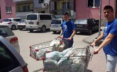 Paketi pomoći porodicama teškog materijalnog stanja