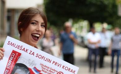 """""""Smiješak za Sofijin prvi korak"""": Humanost Fočaka na djelu"""