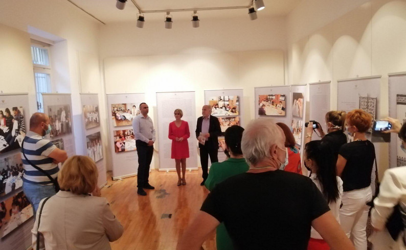 Tradicionalni vez iz Zmijanja predstavljen u fočanskom Muzeju