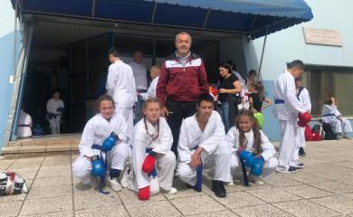 """Dječije karate prvenstvo Srpske: Tri bronze za """"Ljubišnju"""""""