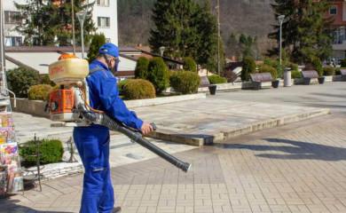 Krizni štab: Ponovo kreće dezinfekcija javnih površina