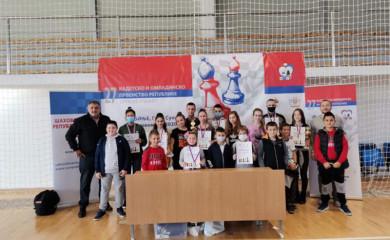 Šah: Fočacima najviše medalja na Prvenstvu Srpske za kadete i omladince