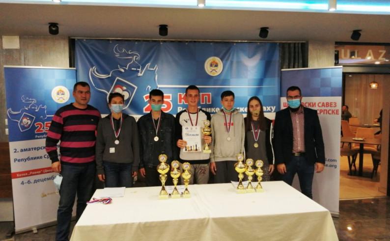 """Šah: Omladinci """"9. januara"""" najbolji u Kupu Srpske"""