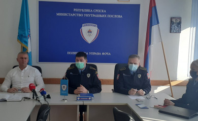 PU Foča: Povećana stopa kriminaliteta, visoka rasvijetljenost krivičnih djela