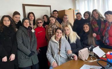 Humanitarna akcija studenata Medicinskog fakulteta u Foči