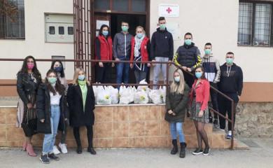 Pomoć mladih za 15 porodica iz Foče