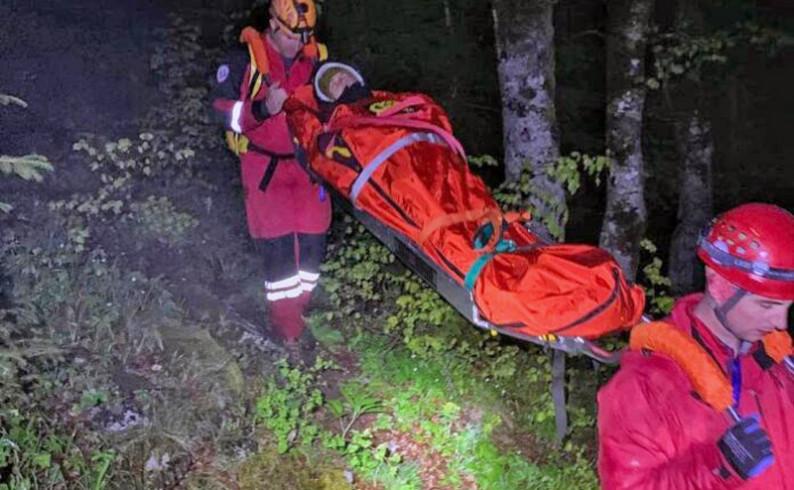 Sa Maglića evakuisana povrijeđena Njemica
