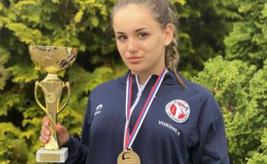 Karate: Valentini Vuković zlato na turniru u Beogradu