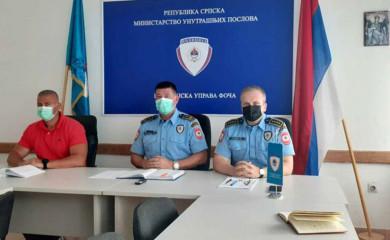 PU Foča: Prvu polovinu godine obilježio povećan broj saobraćajnih nesreća