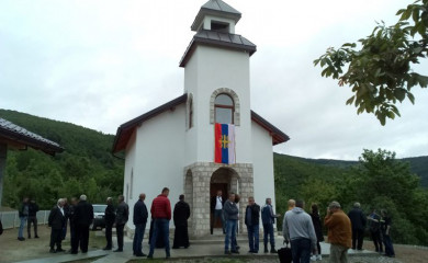 Osveštanje spomen-hrama u Jošanici 25. Septembra