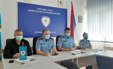 U avgustu povećan broj saobraćajnih nesreća i prekršaja javnog reda i mira