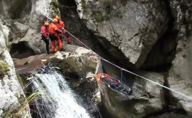 Vježbe spasilaca iz Foče i Plužina za veću bezbjednost turista